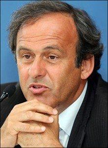 "Scommessopoli , interviene Platini: ""Serve una polizia sportiva"""