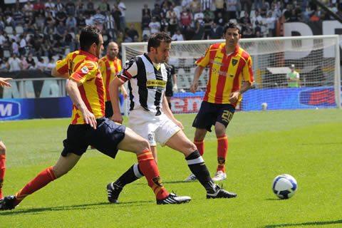 Juventus-Lecce: 20 uomini a testa per Delneri e De Canio