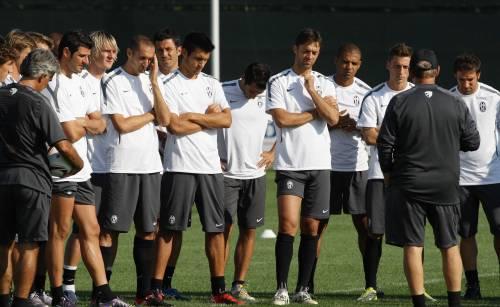 Verso Juventus-Lazio: Del Neri prova schemi sui calci piazzati