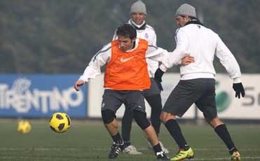 Qui Vinovo: ultimo allenamento senza i nazionali per i bianconeri