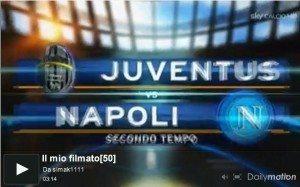 Juventus – Napoli 2-2: tabellino e highlights (a segno Chiellini e Matri)