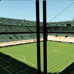 Nuovo stadio Juve: installato il rivestimento