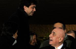 Agnelli chiama Galliani, di nuovo amici per la partita in Lega