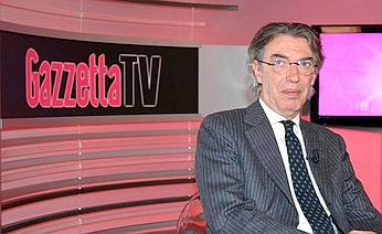"""Moratti: """"E' Natale ma non regalo lo scudetto 2006 ad Agnelli. Nostre telefonate irrilevanti"""""""