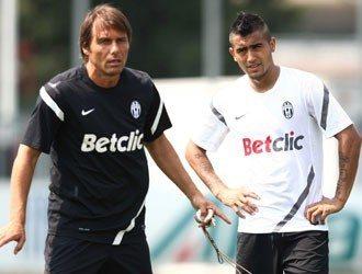 Juventus: Vidal e Barzagli già in campo a Vinovo