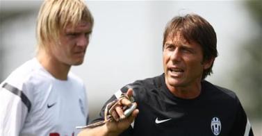 """Conte avvisa i suoi: """"Voglio la Coppa Italia"""", Krasic Storari e Quagliarella titolari"""