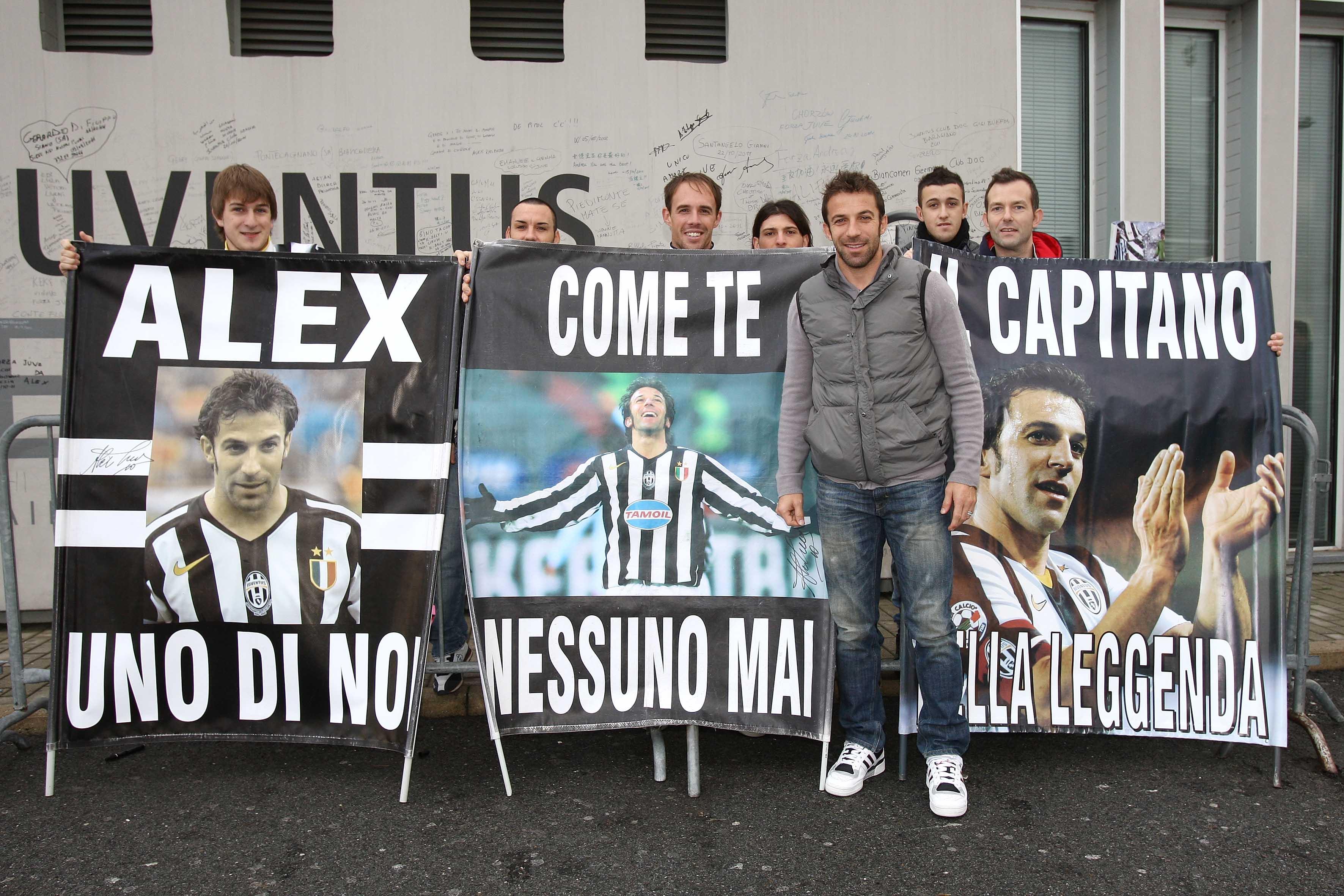 Juventus: ripresa con doppia seduta e festa per Alex