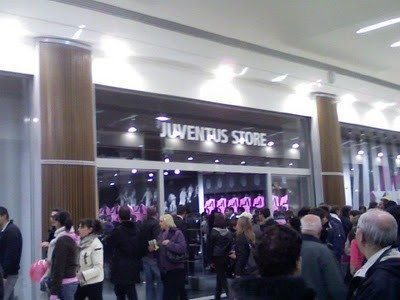 Inaugurazione nuovo Juventus Store
