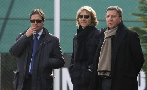 Verso Juventus – Cagliari: primo allenamento per Borriello sotto gli occhi di Agnelli