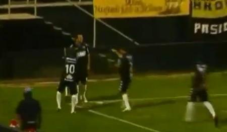 Video – Cristian Fabbiani in gol da centrocampo