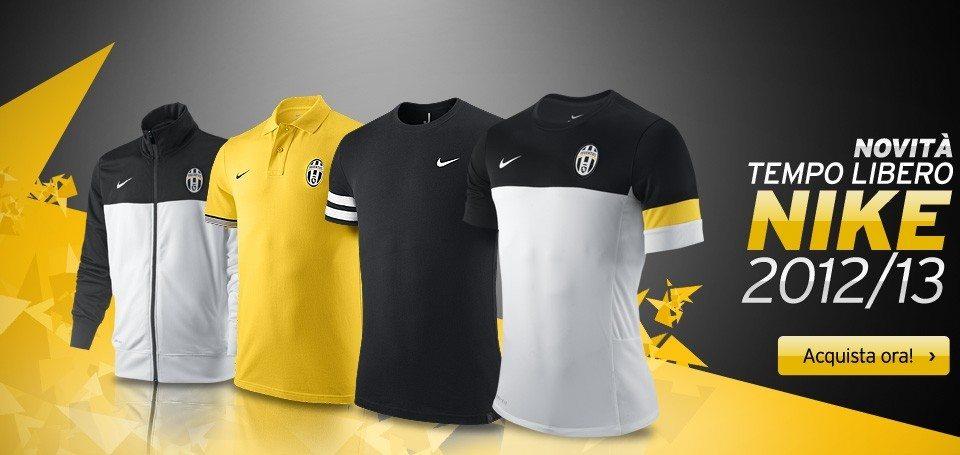 6eb8c417af Maglie tempo libero Juventus 2012-2013 disponibili su Juvestore ...