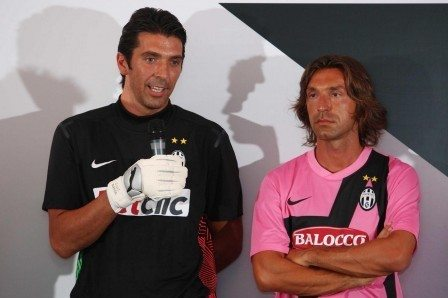 Buffon e Pirlo tra i best player europei