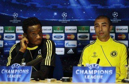 Di Matteo e Mikel in conferenza stampa: Juve peggior avversario che ci potesse capitare