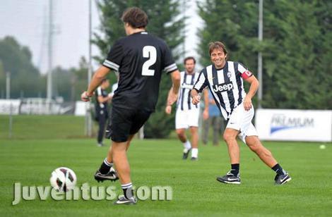Terzo Juventus Day: Conte batte Nedved
