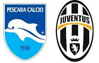 Pescara-Juventus: probabili formazioni in campo alle 20.45