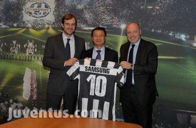 Juventus: Samsung nuovo partner tecnologico