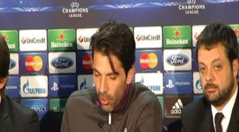 """Buffon: """"Celtic Park caldo? Tifosi contano fino a un certo punto"""""""