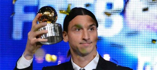 Zlatan-Ibrahimovic-TV-premiazione