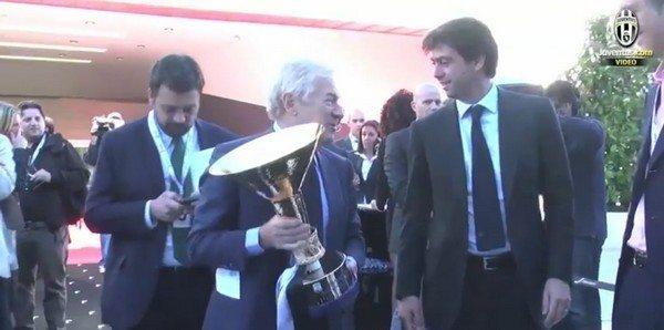 """Juventus Agnelli insiste: """"Voglio terzo scudetto consecutivo"""""""