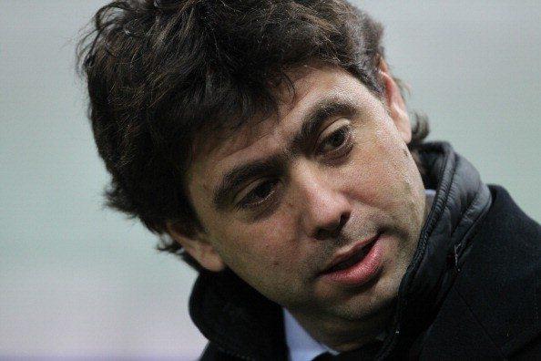 Juventus FC president Andrea Agnelli rea