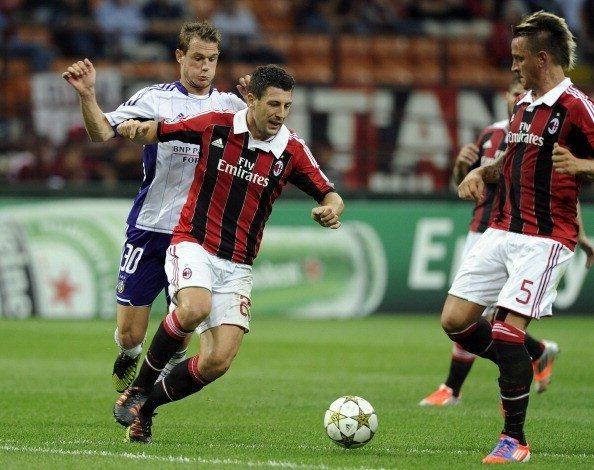AC Milan v RSC Anderlecht - UEFA Champions League