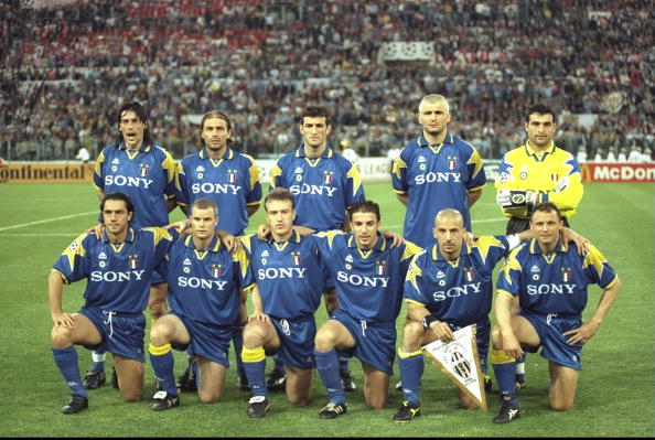 The Juventus team
