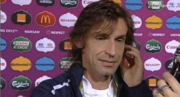 """Juventus Pirlo: """"Champions l'anno prossimo poi smetto con la nazionale"""""""
