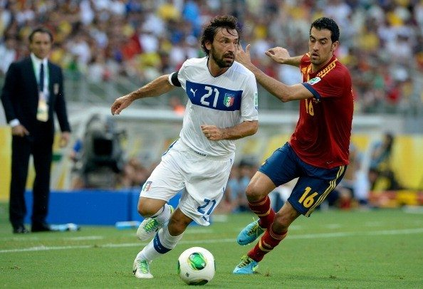 Spain v Italy: Semi Final - FIFA Confederations Cup Brazil 2013