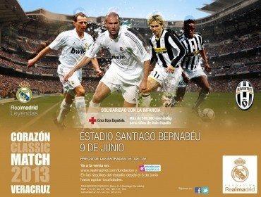 Real Madrid-Juventus tra vecchie glorie in diretta TV il 9 giugno 2013