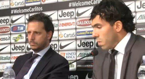 """Tevez pazzo della Juventus: """"Non vedo l'ora di iniziare"""""""