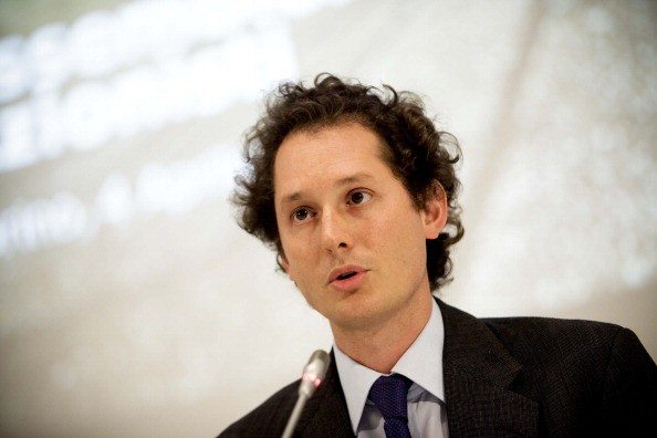 Fiat Chairman John Elkann speaks during