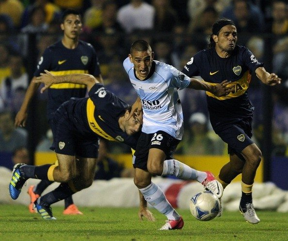 FBL-ARGENTINA-BOCA JUNIORS-RACING CLUB