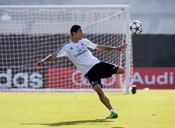 Real Madrid And Everton Training Session