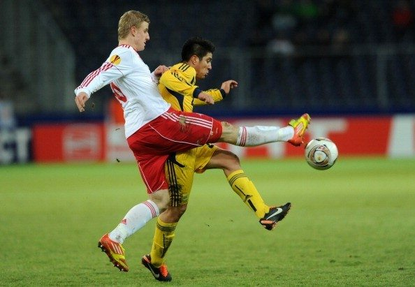 FC Metalist Kharkov's Jonathan Cristaldo