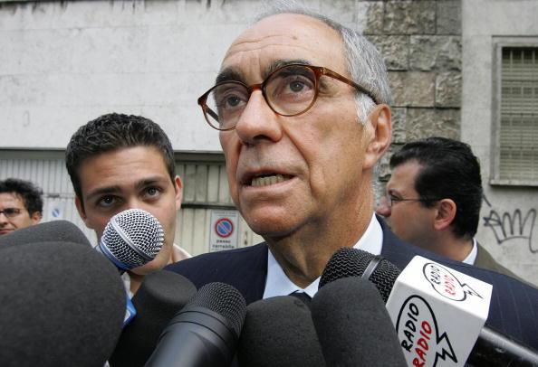 Former Italian soccer Federation Preside
