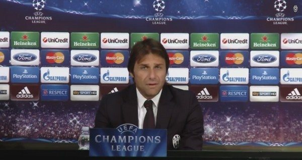 Juventus – Real Madrid: conferenza stampa di Conte e Tevez | Video