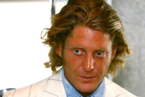 Lapo Elkann Holds Press Conference At Barneys New York