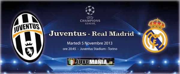 Diretta Juventus – Real Madrid: TV, streaming e formazioni ufficiali