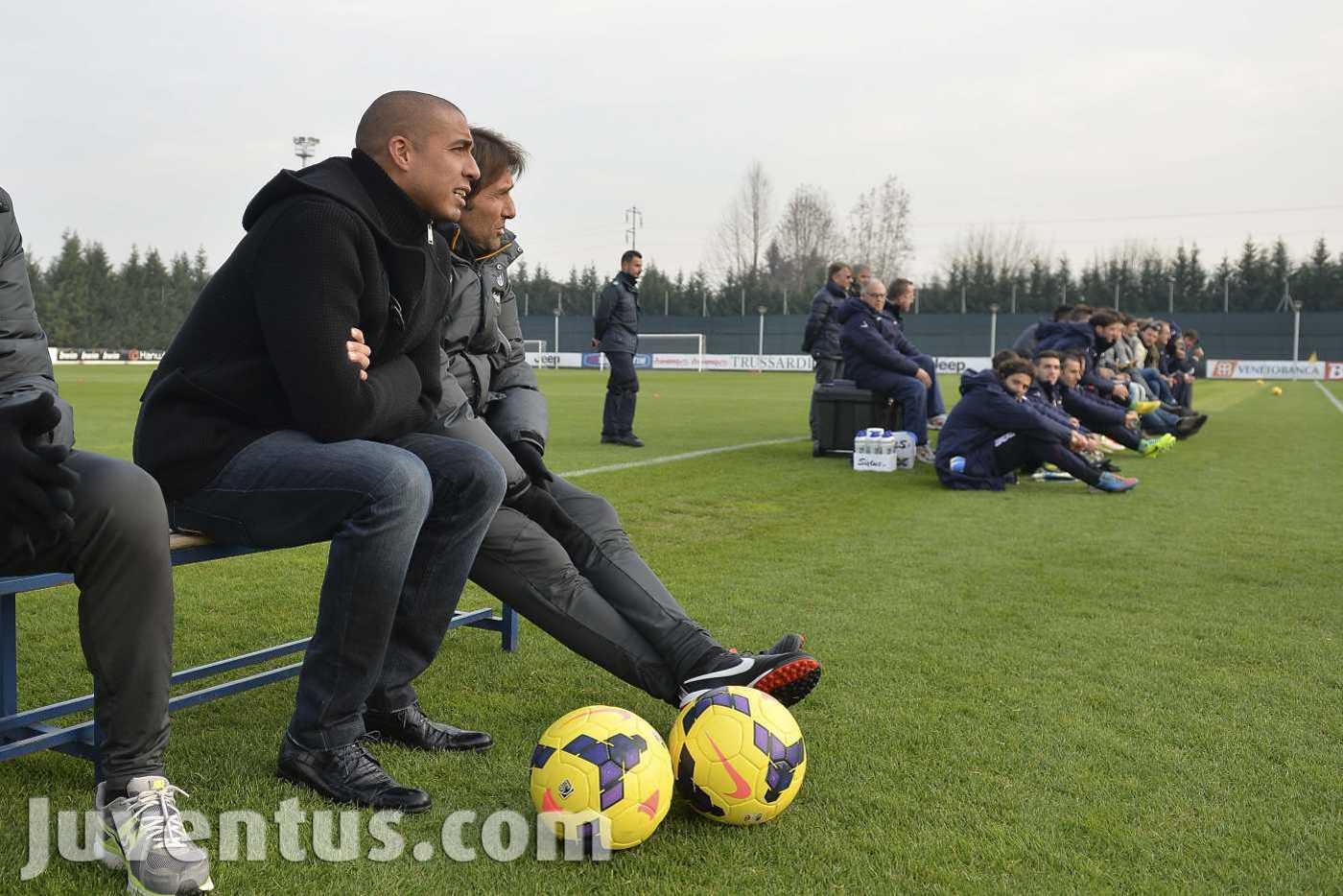 Amichevole Juventus-Cuneo 2-0 sotto gli occhi di Trezeguet