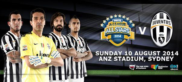 Amichevole Juventus – A-League Alla Stars il 10 agosto: Del Piero contro il passato