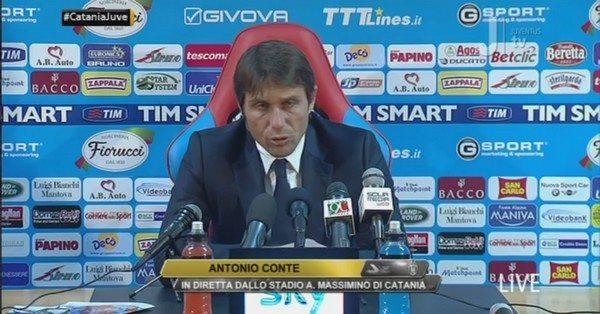 """Catania-Juventus, intervista Antonio Conte: """"In questi tre anni ho dimostrato qualcosa"""""""