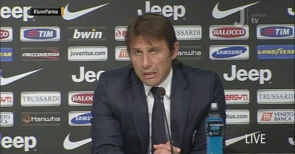 """Interviste Juventus-Parma 2-1, Conte: """"Vittoria importante, complimenti a loro"""""""