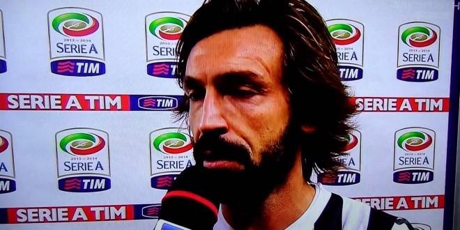 Fiorentina-Juventus 0-1: le intervista e Pirlo e Bonucci