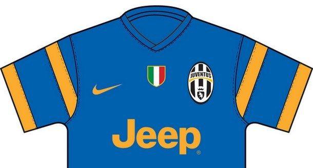 Maglie Juventus 2014-2015: strisce più strette per la prima, la seconda sarà blu