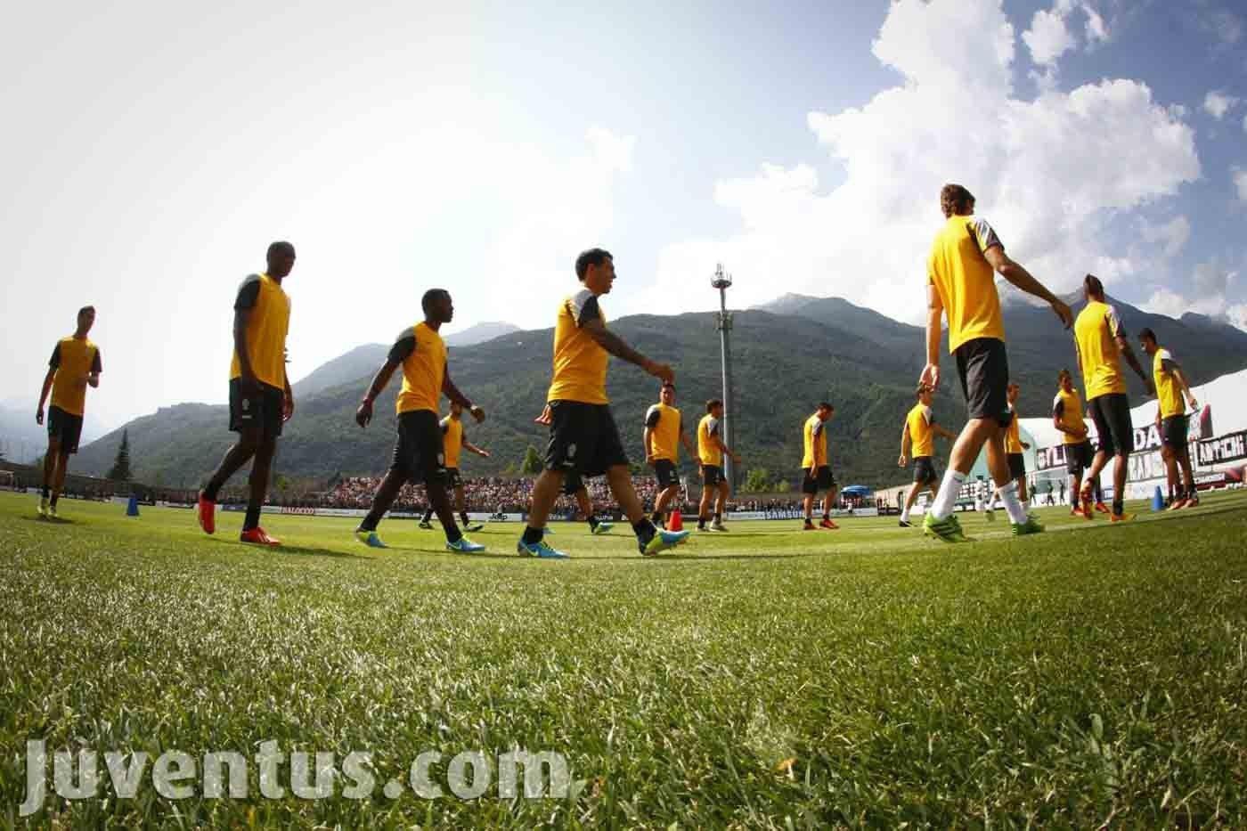 Juventus 2014-2015: ritiro a Vinovo e programma estivo
