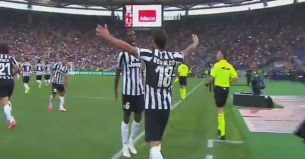 Roma-Juventus 0-1 video gol: tabellino e highlights (decide Osvaldo)
