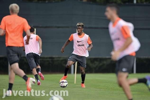 Allenamento pomeridiano Juventus