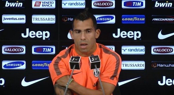 "Juventus, conferenza stampa Tevez: ""Conte non mi ha deluso"" [Video]"