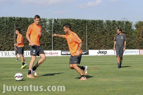 Juventus allenamento pomeridiano