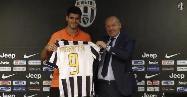 """Juventus, presentazione Alvaro Morata: """"Arrivo in uno dei più grandi club al Mondo"""" [Video]"""